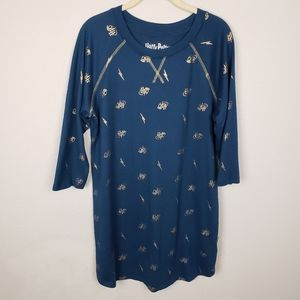 Harry Potter sleepwear fleece nightgown